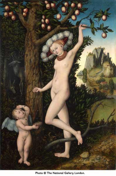 15 National gallery Plainte de Cupidon à Vénus début années 1530