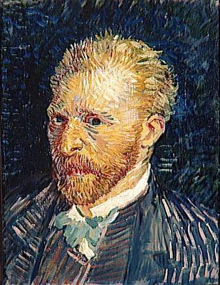 Autoportrait de Van Gogh vers 1886