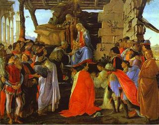Botticelli - Adoration des mages - Offices