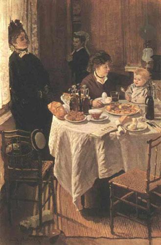 Le déjeuner Claude Monet 1868 - St.K.und S. Galerie -Francfort