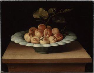 Lubin Baugin. Coupe de fruits. 17es . Rennes, musée des Beaux-Arts