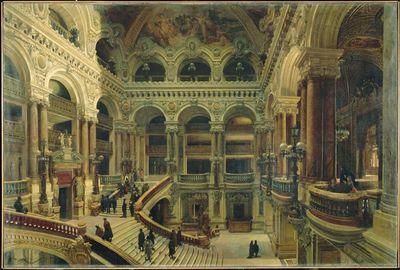 Navlet - Musée d'Orsay Escalier de l'Opéra à Paris