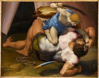 David et Goliath - Daniele da Volterra