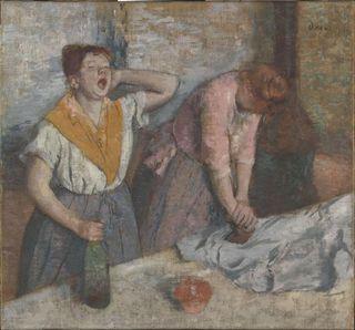 Musée d'Orsay Les repasseuses -  vers 1884-86 - E. Degas