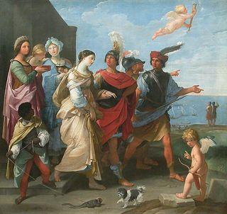 L'enlèvement d'Hélène - Guido Reni - vers 1626 - Louvre