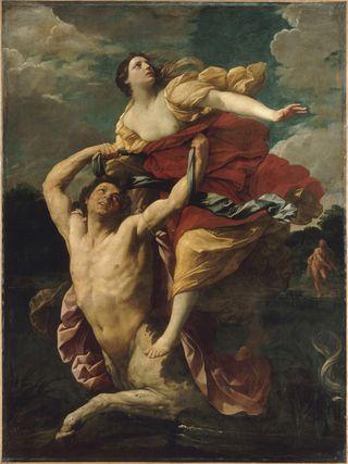 Déjanire enlevée par le centaure Nessus - Guido Reni - Louvre