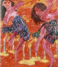 Danseuses aux bougies- Emil Nolde - 1912 -Seebüll