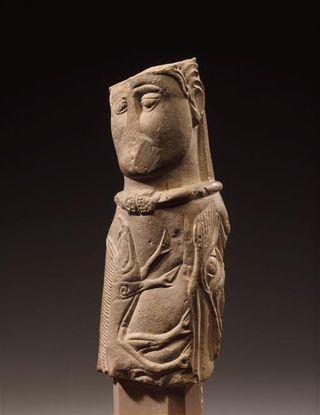 Dieu d'Euffigneix (Marne) conservé à Sy-Germain-en-Laye