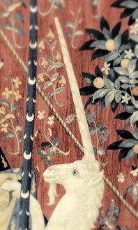 Tenture de la Dame à la Licorne A mon seul désir Paris, musée de Cluny