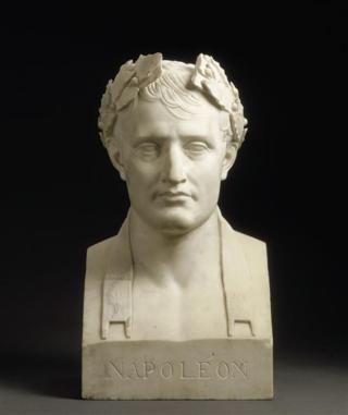 611 Napoléon Ier (1769-1821) lauré, empereur des Français d'ap Chaudet - Copie