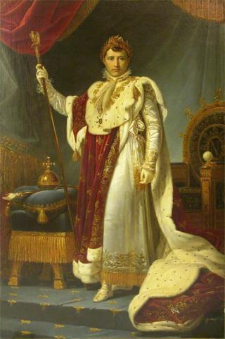 Napoléon Ier en costume de sacre - François Gérard - (C) RMN-Grand Palais (musée du Louvre)  Thierry Ollivier