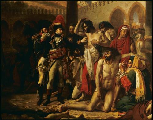 Bonaparte visitant les pestiférés de Jaffa par A.-J. Gros  - Musée du Louvre  (C) RMN-Grand Palais (musée du Louvre)  Thierry Le Mage