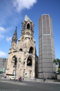 L'église du Souvenir - Berlin
