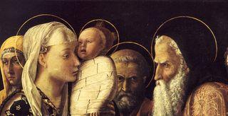 Présentation au temple Mantegna Berlin