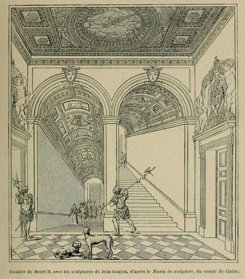 Escalier de henri II