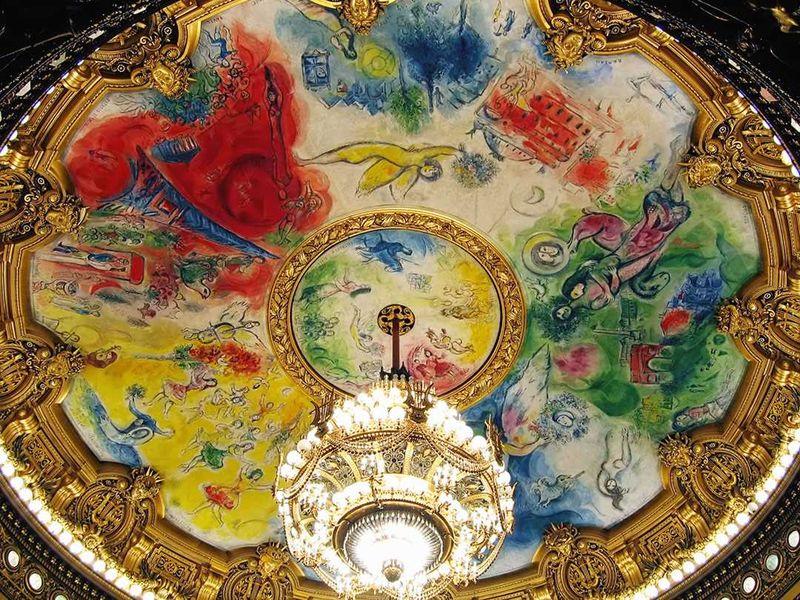 Chagall Opéra Garnier