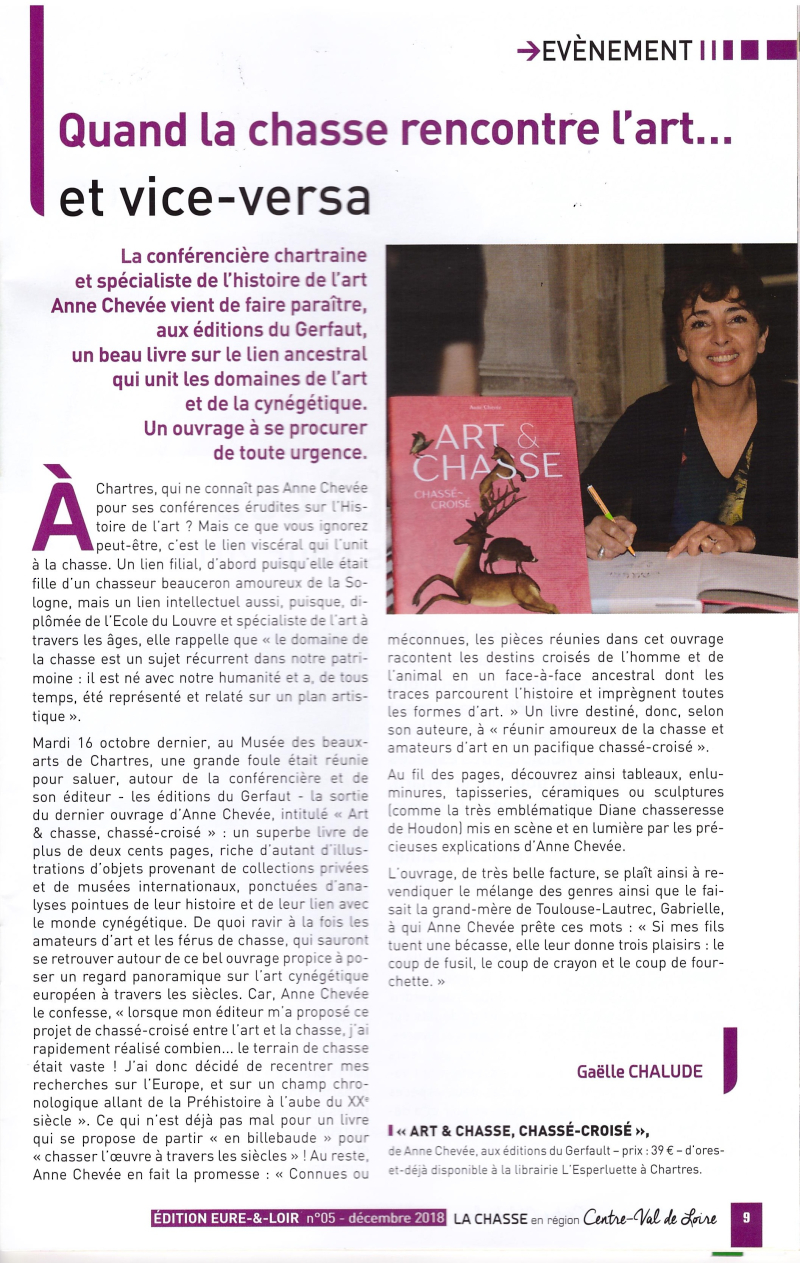 Article Anne Chevée Décembre 2018