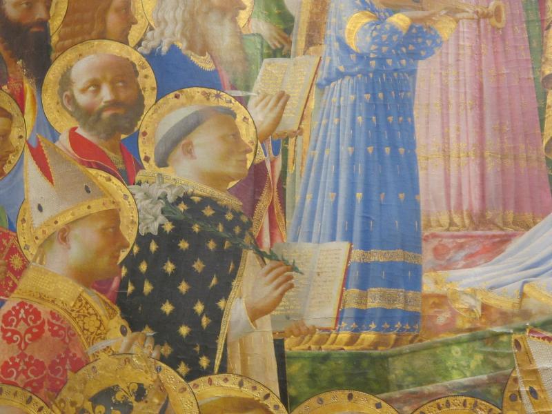 185 Saint Dominique  avec le lys