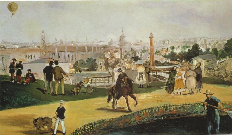 L'Exposition vue par Manet
