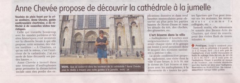 2020 La cathédrale à la jumelle mai 2020