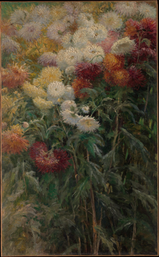 01 11 Chrysanthèmes Gustave Caillebotte Metropolitan museum of Art NY cc OA