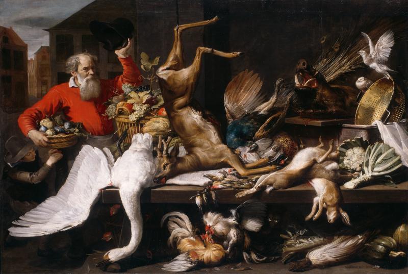 Nature morte Snyders 1614