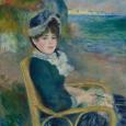 Au bord de la mer 1883 Renir Met museum