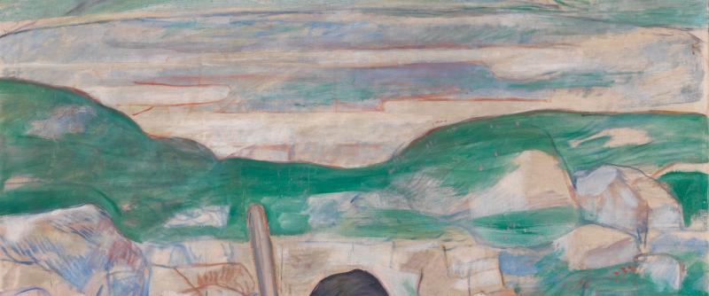 Le rêve du berger AIC Public domain Hodler - Copie