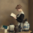 The_house_maid_William McGregor Paxton NGA W